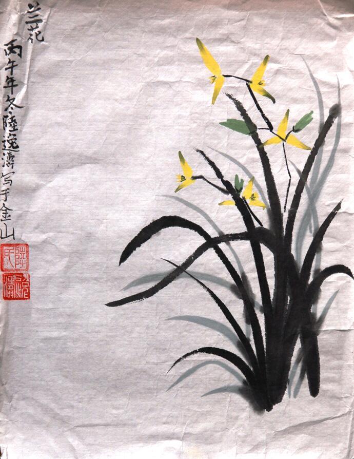 """辰山植物园开展""""我爱幽兰""""儿童绘画活动"""