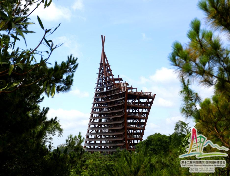 3 杭州展园视角的清泉阁