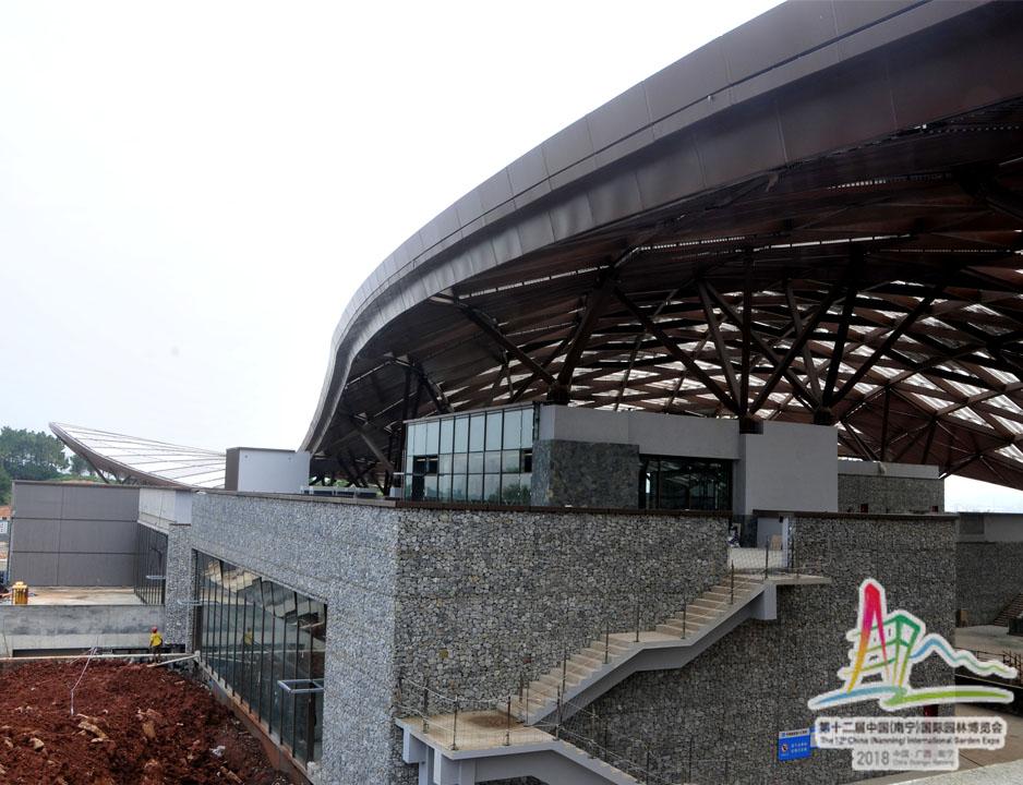 3建设中的宜居·城市馆外景