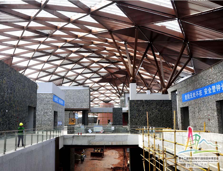 2建设中的宜居·城市馆内景