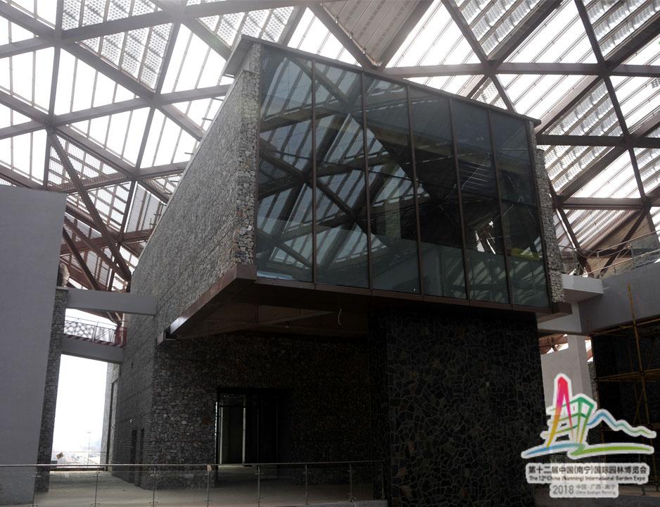 4宜居·城市馆内部的展馆